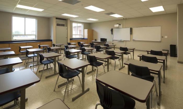 Greene County High School Classroom