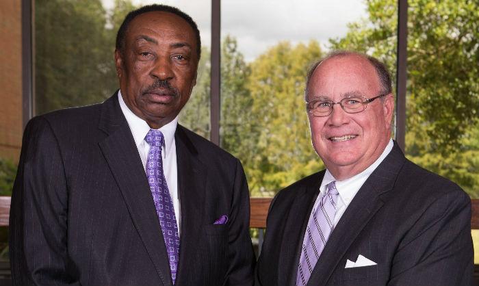 Percy Thomas and Ken Upchurch